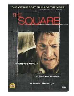 The Square DVD 2010 FACTORY SEALED NEW FREE SHIPPING TRACKING CONTINENTAL US