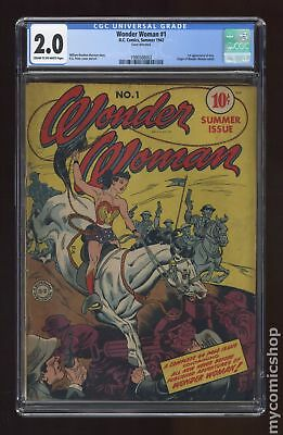 Wonder Woman (1st Series DC) #1 1942 CGC 2.0 1990568003