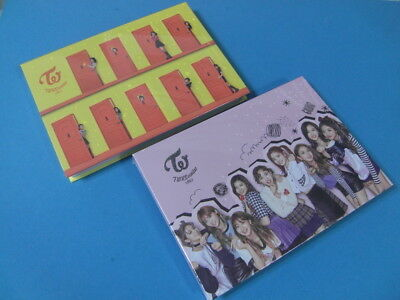 TWICE - TWICEcoaster : LANE 2 [A VER. + B VER.] CD SET + 2 PRE ORDER BENEFIT
