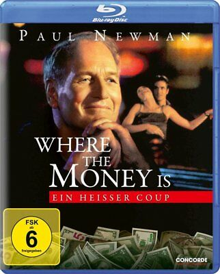 Where the Money Is (2000) Paul Newman Blu-Ray Import NEW USA Compatible