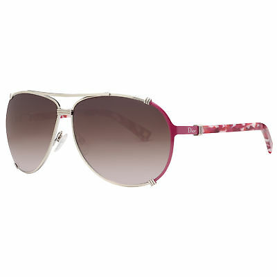 ee512950fbb7 Christian Dior Chicago 2 5R8 V6 Gold Lilac/Brown Women's Aviator Sunglasses