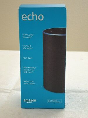 * NEW IN BOX * Amazon Echo 2-Way Smart Speaker 2nd Generation - Charcoal