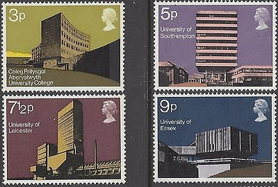 Great Britain 1971 UNIVERSITY ARCHITECTURE (4) Unhinged Mint SG 890-3