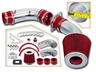 """2.75/"""" JDM RED Cold Air Intake Racing System For 92-95 Civic//93-97 Del Sol"""