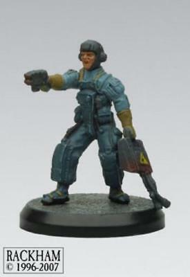 Rackham AT-43 Sergeant A. Borz Hero Box Box MINT