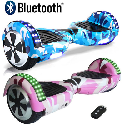 Self Balancing Scooter Electric Bluetooth Balance Board With Bag Remote Key Uk