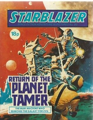 Return Of The Planet Tamer,starblazer Space Fiction Adventure,comic,no.90