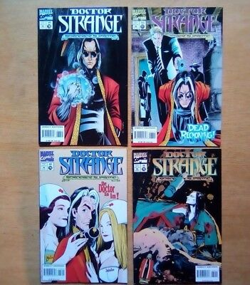 4 ISSUES DOCTOR STRANGE #76,77,78,79 MARVEL COMICS 1995  ALL V/FINE 1st PRINTS