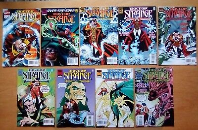 9 Issues Doctor Strange #80,81,82,83,84,85,86,87,89 Marvel Comics 1995  V/fine