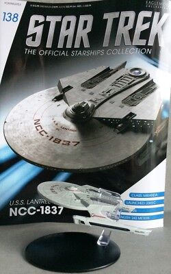 STAR TREK Official Starships Magazine #138 U.S.S Lantree NCC-1837 Model Starship