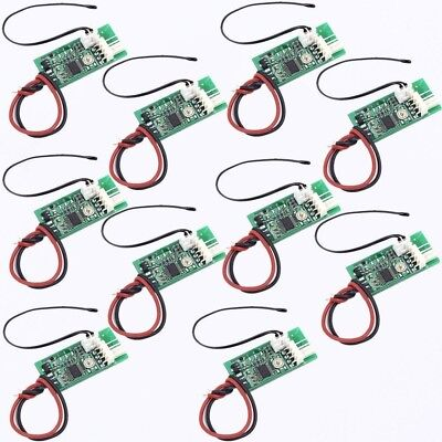 10X DC 12V PWM 4-Wire Fan Temperature Controller Speed Governor for PC Fan/Alarm