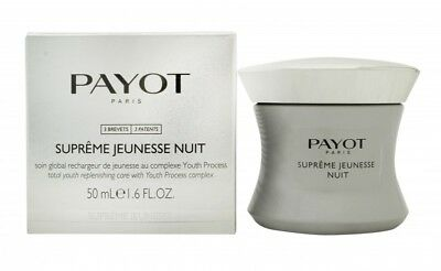 Payot Suprême Jeunesse Nuit Night Cream - Women's For Her. New. Free Shipping