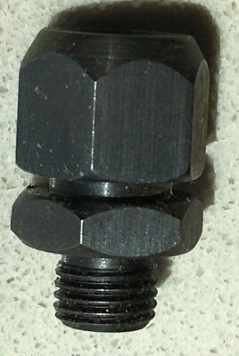 Starrett Split Collet 3/8 Inch Thread And 1/4 Inch Thread (As Pictured)