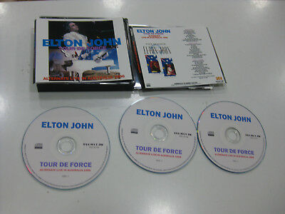 Elton John 3 Cd Tour De Force Alternate Live In Australia 1986
