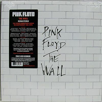 "New & Sealed Pink Floyd ""The Wall"" Double LP 180-Gram Vinyl Record Set Free Ship"