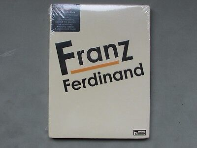 LOOK* New & Sealed FRANZ FERDINAND Double DVD Set Live Footage, Shows etc 4.5hrs
