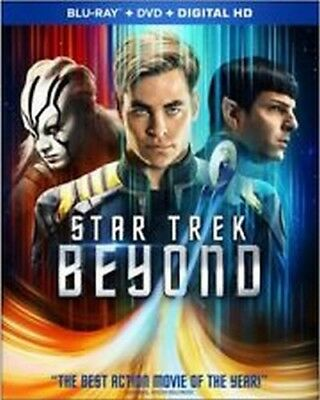 Star Trek Beyond Blu-Ray + DVD + Digital HD Sealed NEW w/ FREE SHIPPING!