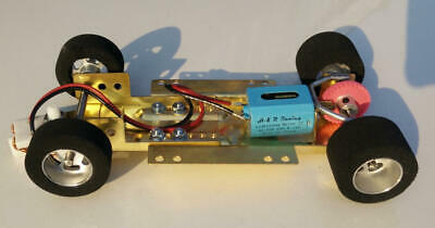H&R Racing HRCH04 Adjustable Chassis w/ 40,000 RPM Motor 1:24 Slot Car