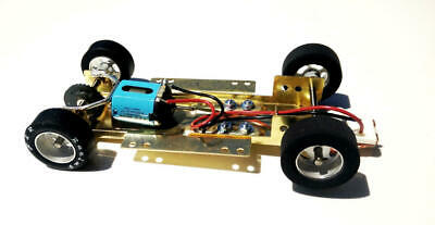 H&R Racing HRCH10 Adjustable Chassis w/ 18,000 RPM Motor 1:24 Slot Car