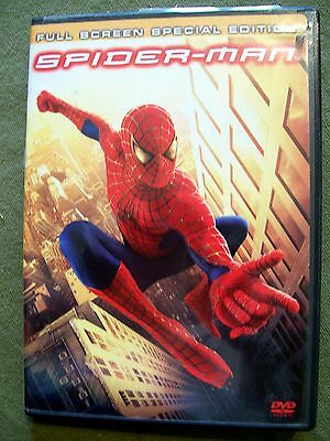 Spider-Man (DVD, 2002, 2-Disc Set, Special Edition Full Frame) Tobey Maguire