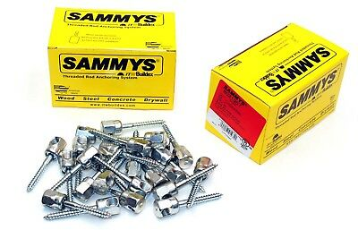 (25) Sammys 3/8-16 x 2 Sidewinder Threaded Rod Hanger for Wood 8021957