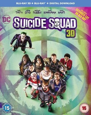 Suicide Squad 3D+2D Blu-Ray Blu-Ray Neuf (1000589280)
