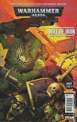 Warhammer 40000 Will of Iron (Titan) 1C 2016 NM Stock Image