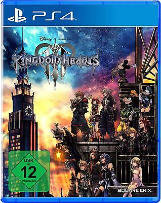 Kingdom Hearts (III) 3 PS4 Playstation 4 Nuovo + Conf. Orig.