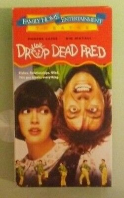 phoebe cates DROP DEAD FRED carrie fisher / rik mayall   VHS VIDEOTAPE