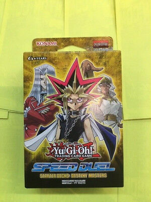 Yu-Gi-Oh! TCG Speed Duel - Destiny Masters Starter Deck New Sealed