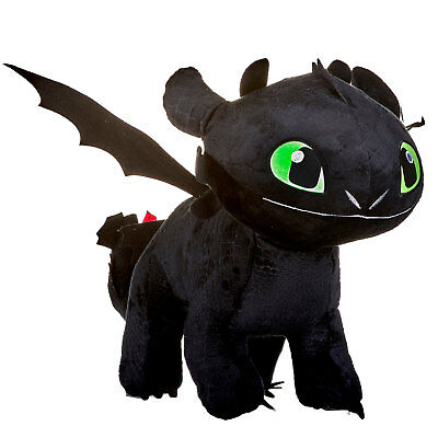 DreamWorks How To Train Your Dragon: The Hidden World 60cm Plush Toothless