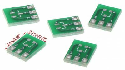 5 x Double Side SMD SOT23-3 SIP3 to DIP 2.54mm Adapter PCB Board Converter 5PCS