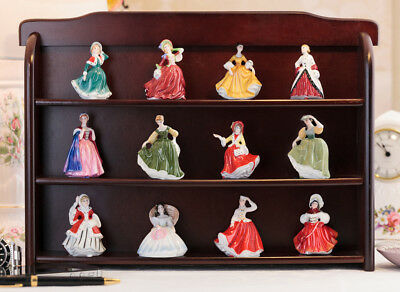Lovely set of 12 Royal Doulton miniature lady figurines