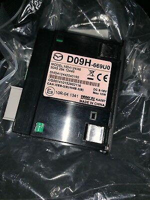 Mazda Sat Nav module D09H-669U0 MD4124/46 (USB, aux, SD card) Entertainment Sys