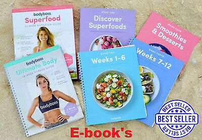Bodyboss Fitness Ultimate Body Fitness Guide - 5 GUIDE BUNDLE + Nutrition guides