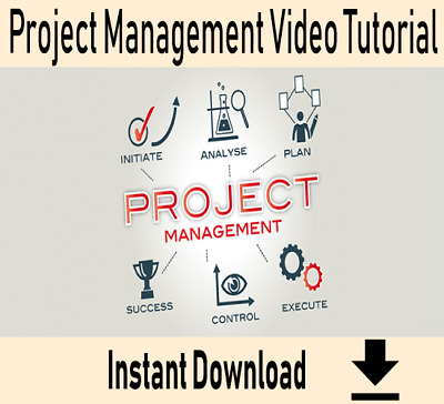 Project Management – Professional Video Training Tutorial - Instant Download