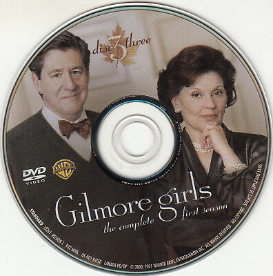 Gilmore Girls First Season 1 Disc 3 Replacement Dvd Disc Only