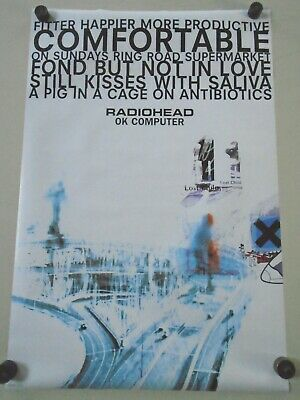 Radiohead / Original UK Poster #pp0616 / Exc. New Cond.- 24 x 36""