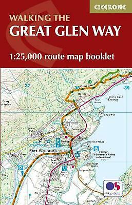 Great Glen Way Map Booklet: 1:25,000 OS Route Mapping by Paddy Dillon Paperback