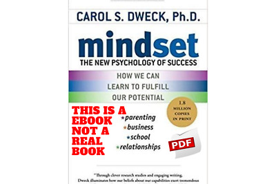 Mindset The New Psychology of Success By Carol S. Dweck (MUST READ) PDF