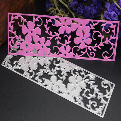 Flowers Metal Cutting Dies Stencils for DIY Scrapbooking/photo album Card Decor~