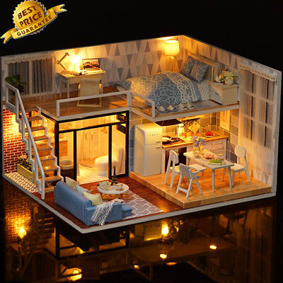 LOL SURPRISE DOLL HOUSE Made with REAL WOOD - SURPRISES!! Birth day Gifts 1pc