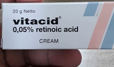 1_TUBE_VITACID0.05%_20gr_CREAM For SKIN BLEACHING ORIGINAL FAST RESPON.