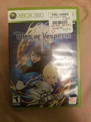 Tales of Vesperia (Microsoft Xbox 360, 2008) Lot