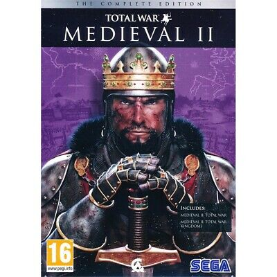 Medieval Ii (2) Total War - The Complete Collection /pc