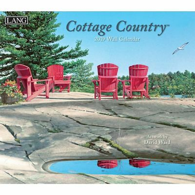 2019 Cottage Country Wall Calendar, Lang Folk Art by Lang Companies