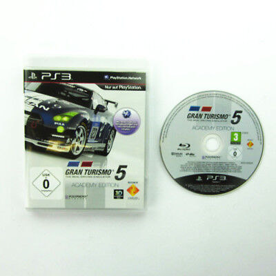 PS3 - PlayStation 3 Spiel GRAN TURISMO 5 ACADEMY EDITION + OVP ohne Anleitung #A