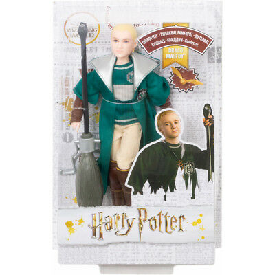 HARRY POTTER SLYTHERIN Quidditch Robes Poseable Draco Malfoy