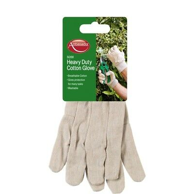 Ambassador Heavy Duty Cotton Glove,