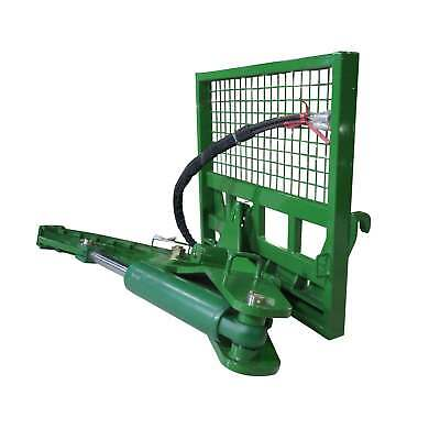 "Titan 12"" HD Rotating Tree Shear Attachment Fits John Deere Global Euro Loaders"